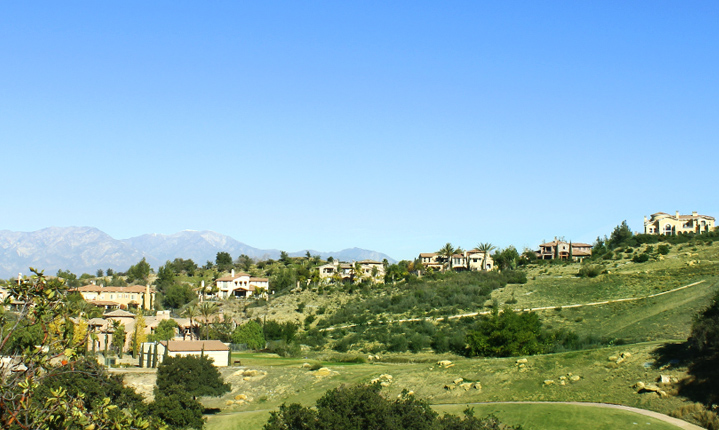 Private homes on hillside, chino hills CA properties
