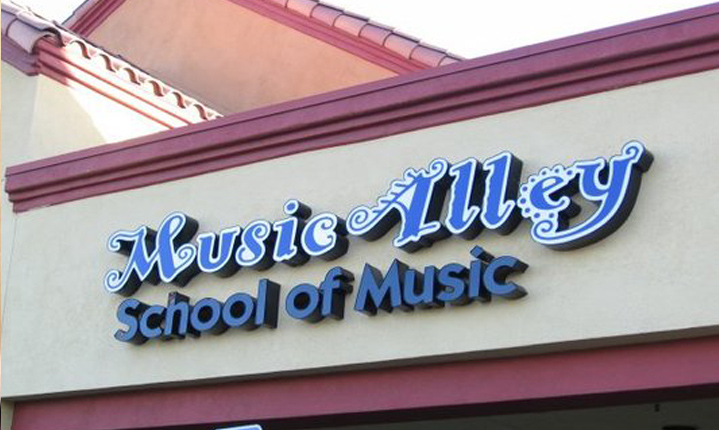 Music Alley School of Music in Chino Hills California.