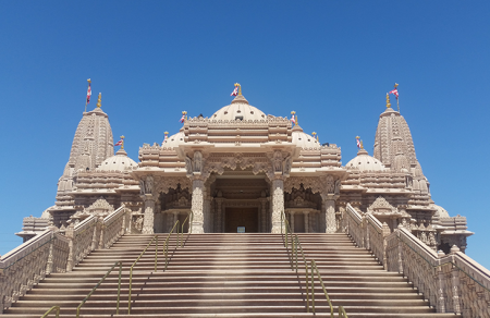 THE SHRI SWAMINARAYAN MANDIR IN CHINO HILLS