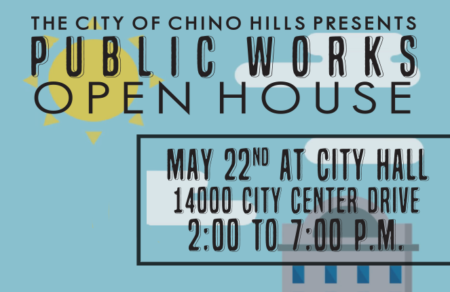 Public Works Open House May 22nd at City Hall